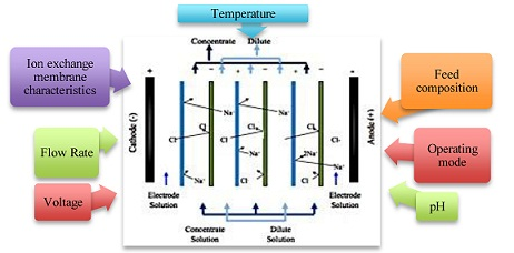 How Operational Parameters and Membrane Characteristics Affect the Performance of Electrodialysis Reversal Desalination Systems: The State of the Art*